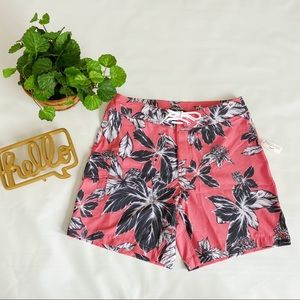Goodthreads   Coral Pink Tropical Board Shorts 31